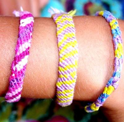 3 bracelets brésiliens