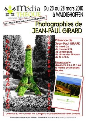 Affiche Expo JP Girard