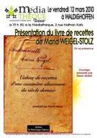 Affiche Maria Stolz