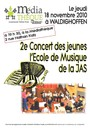 Affiche concert JAS nov 2010