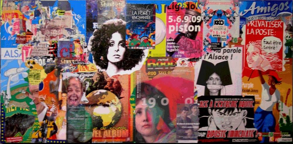 Collage de JM Poinot