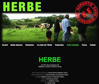 Le film HERBE