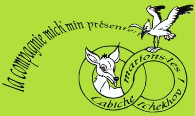 Logo spectacle Labiche Tchekhov