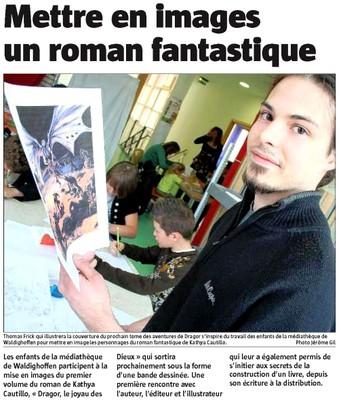 Atelier Kathya CAUTILLO dans l'Alsace le 21 04 10