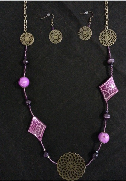 Atelier Bijoux - Parure Rosas