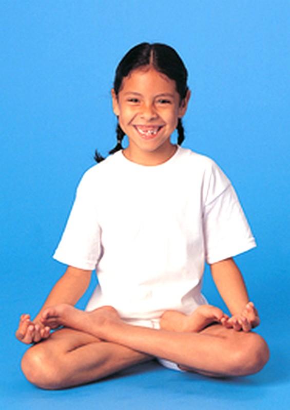 Lotus-posture de yoga-YogaKids®