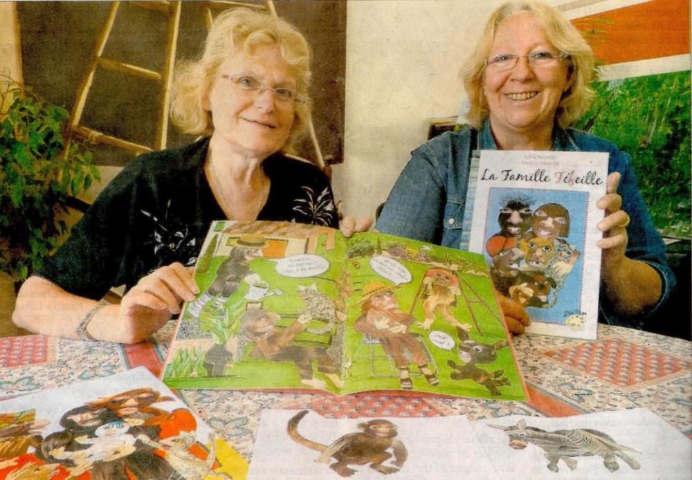 Marlyse Infanti et Sylvie Martin