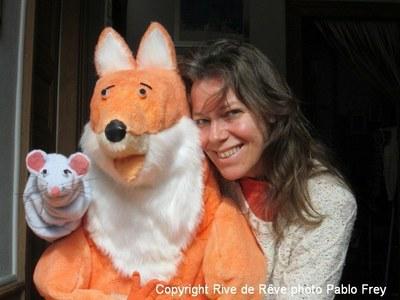 Photo spectacle Mimi et Léo - Annick Frey