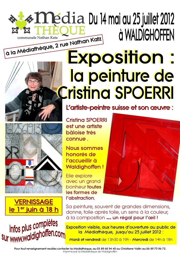 Affiche Cristina Spoerri