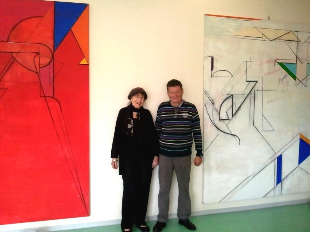 Cristina Spoerri et Eugène Brand, un ami