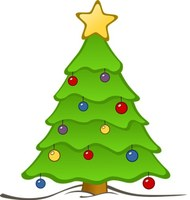 Illustration d'un sapin de Noël.