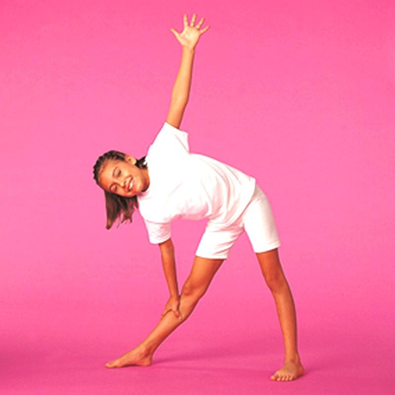 Triangle-posture de yoga-YogaKids®