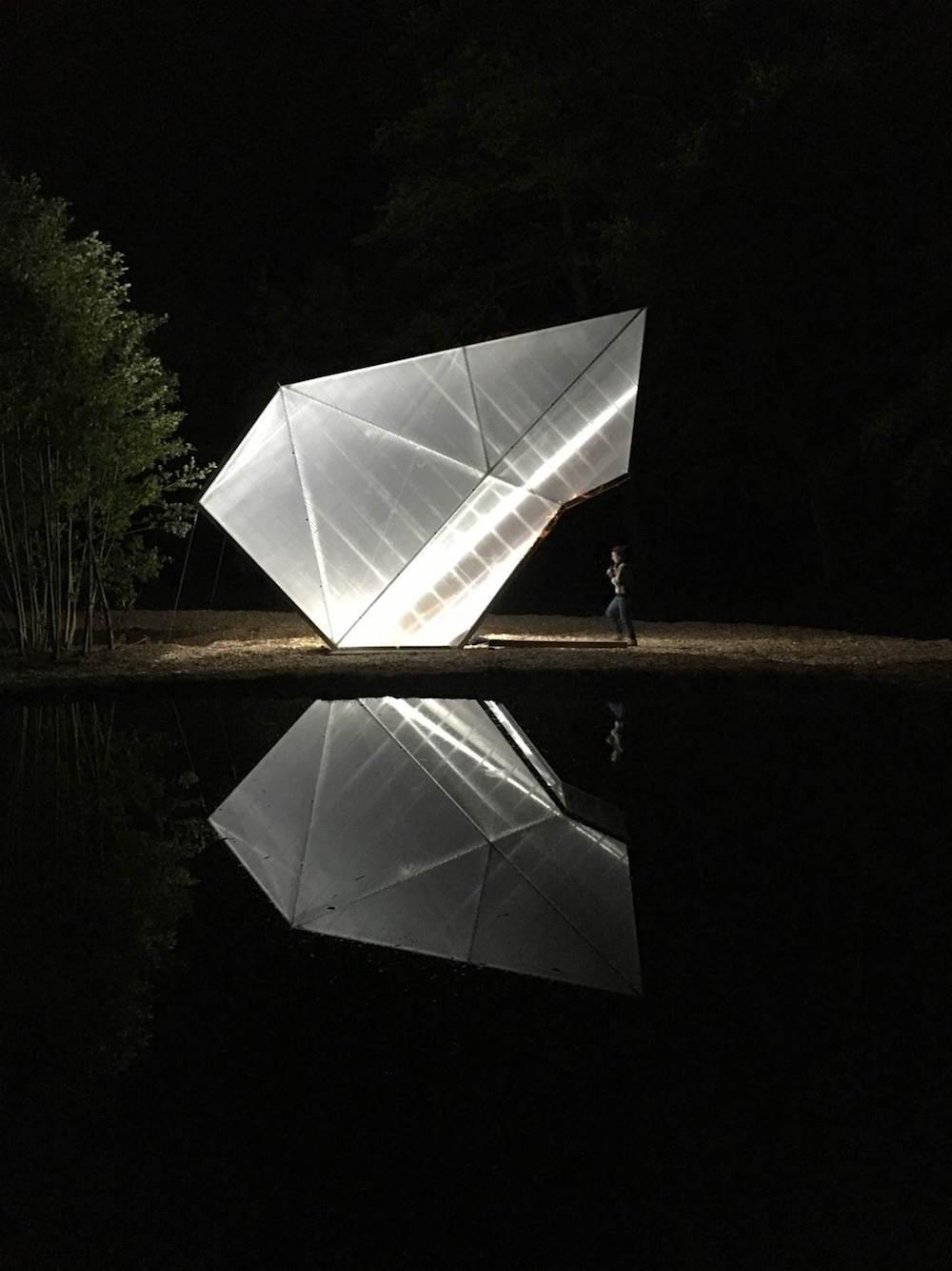 Papillon vu de nuit
