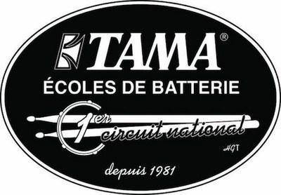 logo ecole tama - moderne drum school
