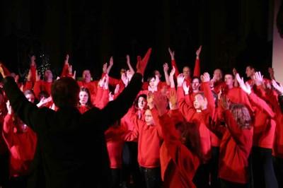 Photo des petits chanteurs de Guewenheim