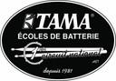 Logo Ecole de batterie Tama