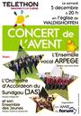 Affiche Concert Téléthon 5 déc 2015