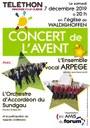Affiche Concert Téléthon déc 2019