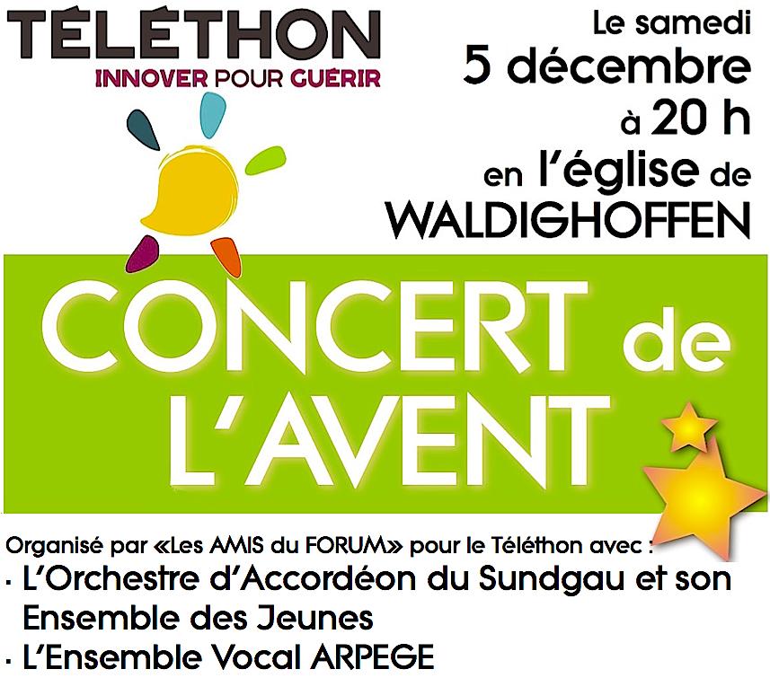 Visuel Concert Téléthon déc 2015