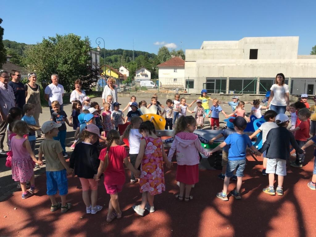 Inauguration jeu école 2