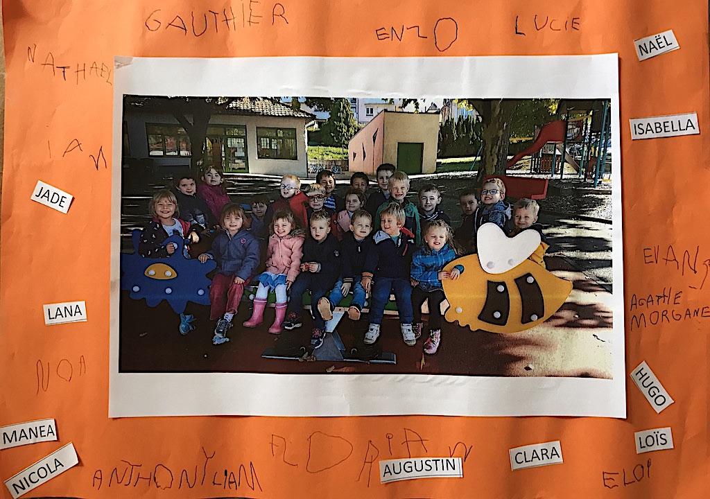 Remerciements et photos enfants 1