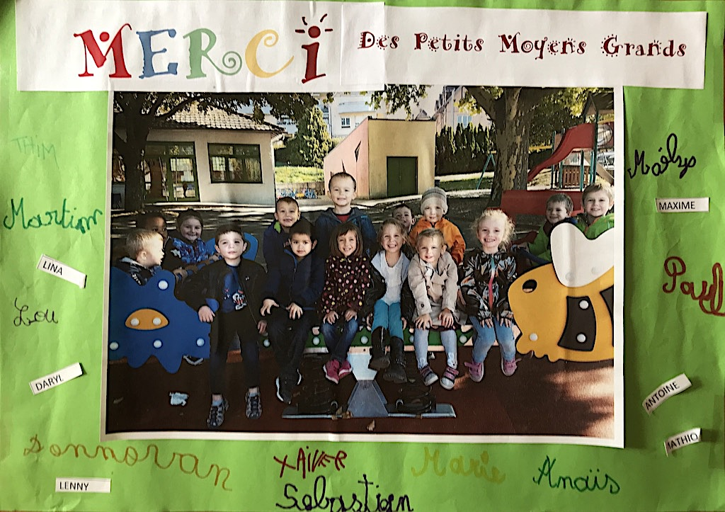 Remerciements et photos enfants 3