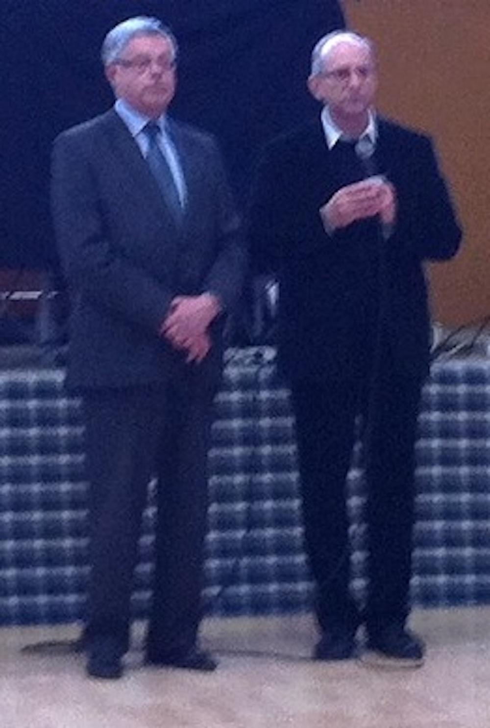 Le curé et le maire