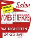 Affiche Salon Vignes et Terroirs 2010