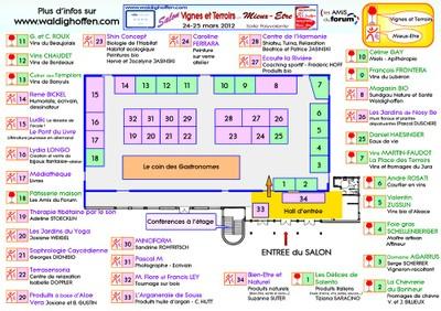 Plan du Salon VTME 2012 à Waldighoffen