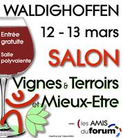 Nouvelle affiche pour le Salon Vignes et Terroirs & Mieux-Etre de Waldighoffen