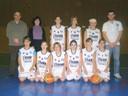 Les benjamines 1 du basket-club CSSPP Waldighoffen