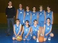 L'équipe des minimes filles du basket-Club CSSPP Waldighoffen