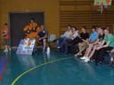 Finales départementales de basket à Waldighoffen le 15 mai. 2