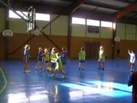Camp de basket poussins à Waldighoffen.