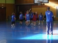 Camp de basket à Waldighoffen.