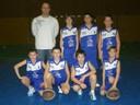 Remise de maillots aux benjamins 1 du basket-club CSSPP Waldighoffen.