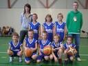 L'équipe des mini-poussins du basket-club CSSPP Waldighoffen.