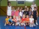 Les baby-basketteurs du basket-club CSSPP Waldighoffen.