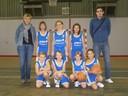 Les poussines 2 du basket-club CSSPP Waldighoffen.