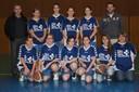 nouveaux surmaillots pour les minimes féminines 1 du basket-club CSSPP Waldighoffen.