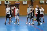 Camp de basket minimes à l'écoute