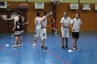 Camp de basket minimes  décontraction.