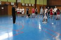 Camp de basket minimes  explication exercice.