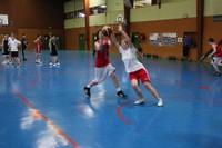 Camp de basket minimes  la défense.