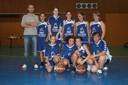 Les minimes féminines 2 du basket-club CSSPP Waldighoffen.