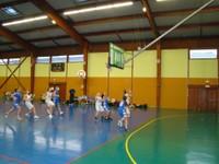 Attaque réussie match minimes région - sélection benjamines du Haut-Rhin du mercredi 18 janvier 2012
