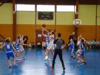 Mise en jeu du match minimes région - sélection benjamines du Haut-Rhin du 18 janvier 2012.