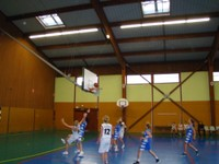 Panier acrobatique match minimes région - sélection benjamines