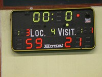 Seniors filles - Michelbach score final