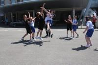 Fête du mini-basket match des poussines